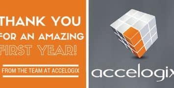 Accelogic would like to thank all of your customers and partners for an amazing first year and for letting us be your wms software provider.
