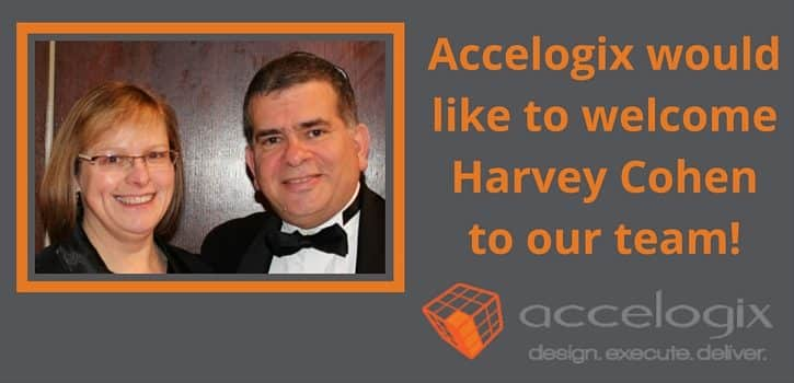 Accelogix would like to welcome Harvey Cohen to the company. Harvey is one of many former redprairie consultants now on the Accelogix team.