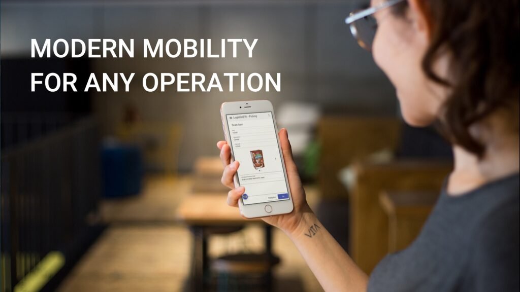 Logistiview on mobile phones